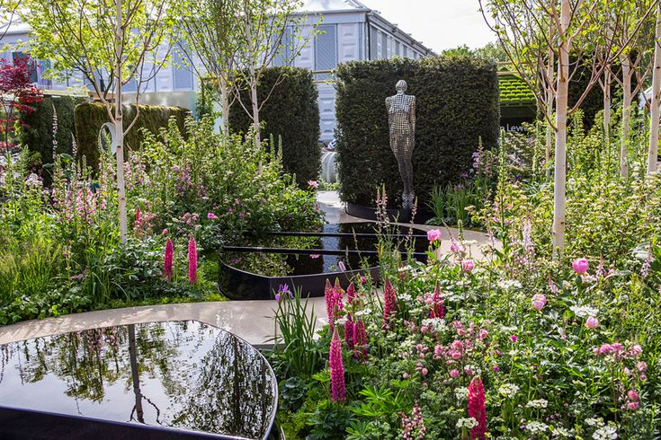 Breakthrough Breast Cancer Garden at the RHS Chelsea Flower Show 2015