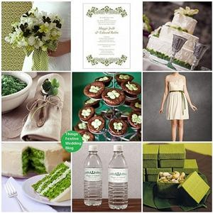 Irish Wedding Theme - St. Patrick's Day Wedding