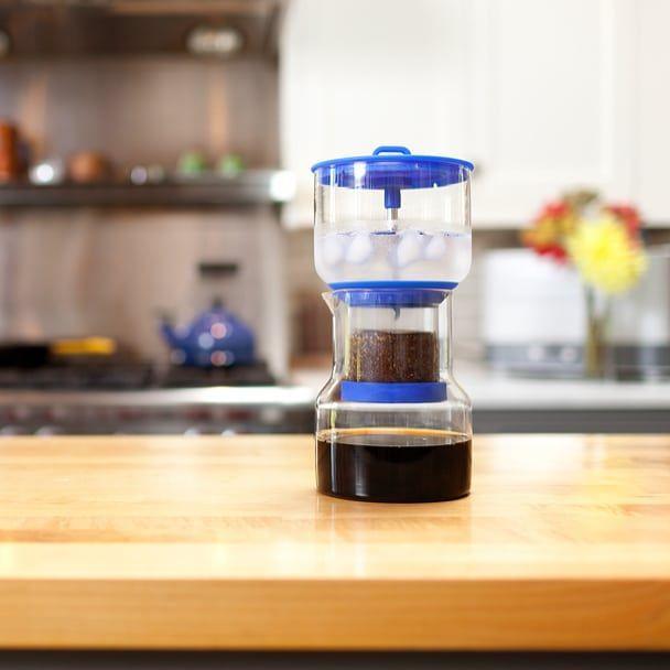 いつでも自宅で 喫茶店の美味しいアイス珈琲 1滴1滴ゆっくりと抽出する スロードリップ式 が自宅でできるんです Monocojpで アイス珈琲 って検索 Monocojp アイス珈琲 アイスコーヒー アイスコ In 2020 Kitchen Appliances Chemex Coffee Maker