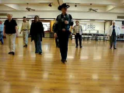 Honky Tonk Badonkadonk Line dance Walkthrough