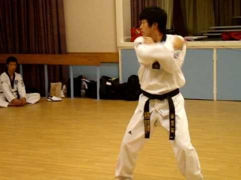 WTF Taekwondo - Poomsae Koryo - Korean World Champion