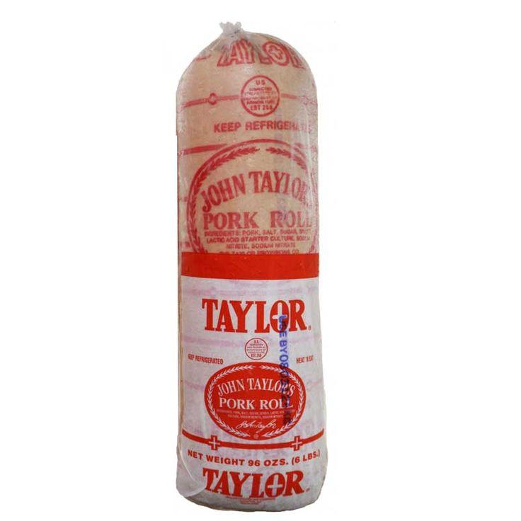 Taylor Pork Roll / Taylor Ham - the taste of my childhood