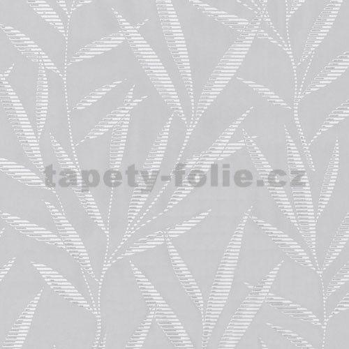 Tapety na zeď Dieter Bohlen - bambusové listy šedé - SLEVA