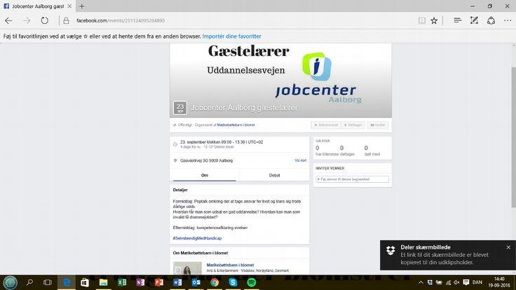 Hvordan får unge med udfordringer tilknytning til arbejdsmarkedet? Det skal jeg igen lave oplæg om i Aalborg Kommune i Jobcenter Aalborg's Uddannelsesvejen.