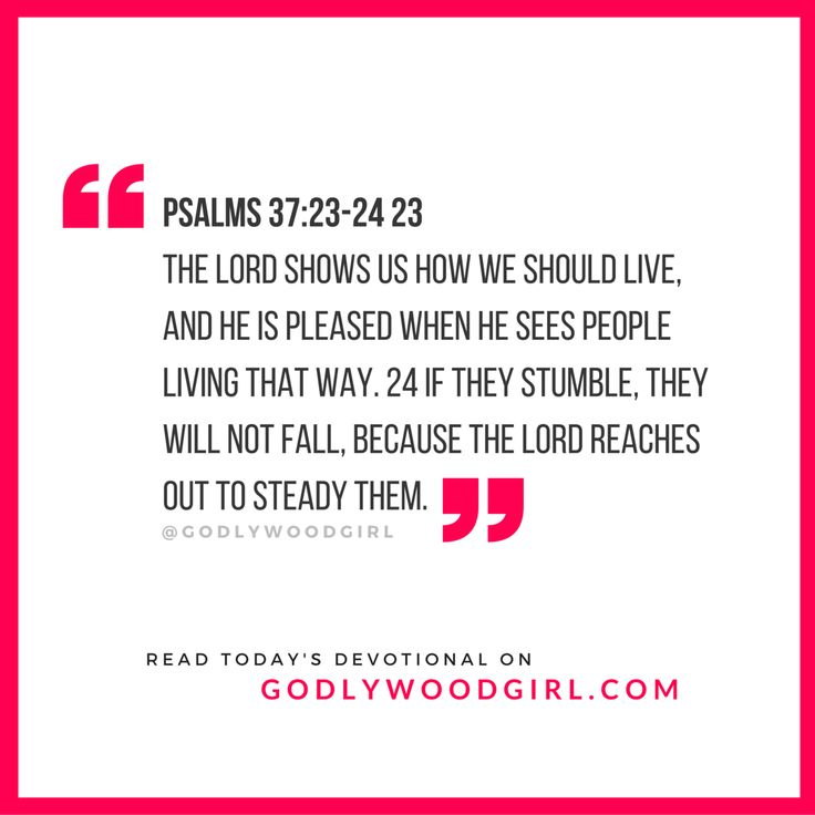 Today's Daily Devotional for Women - You Will Not Fall