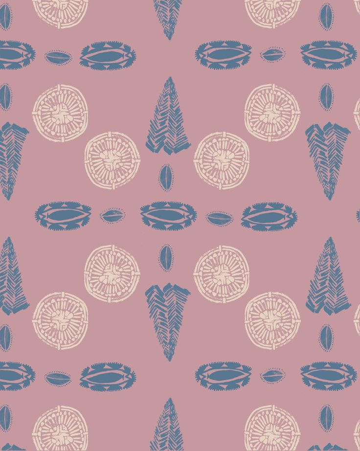 Native American Ceramic (Pink) by Rosie Holman. www.oakrose.co.uk