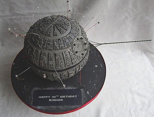 Gâteau l'étoile noir