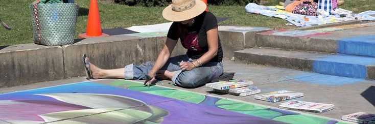 Chalk Festival at Cleveland Museum of Art | Sept. 21-22, 2013 - Children and adults enjoy this annual event where community members join professional artists in using the walkways around the Fine Arts Garden as a colorful canvas.