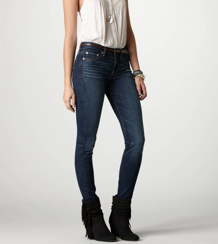 AE Hi Rise Super Skinny Jean - on sale for $35 - 46 Best Wish List For -American Eagle- Images On Pinterest