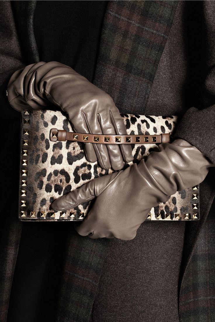 Gucci|Leather gloves|NET-A-PORTER.COM