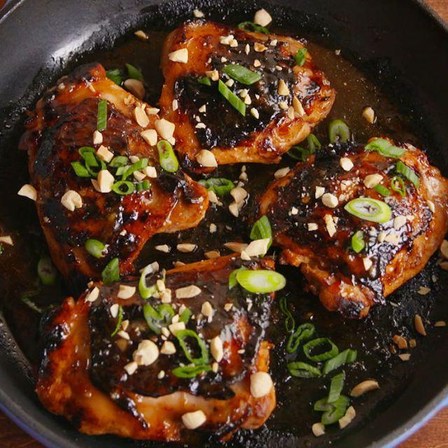 Thai Glazed Chicken  - Delish.com