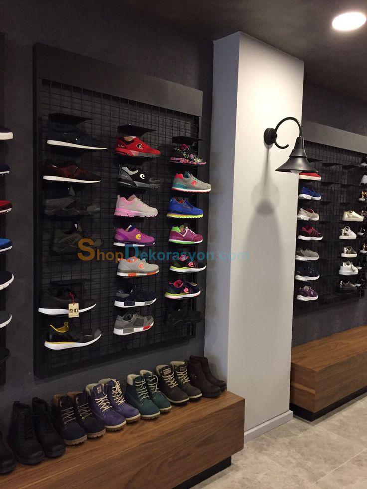 ayakkabı mağazası rafı KML805 8