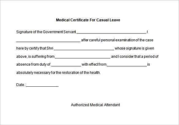 Genuine Fake Medical Certificate Certificate Templates With Regard To Fake Med Doctors Note Template Certificate Of Completion Template Certificate Templates