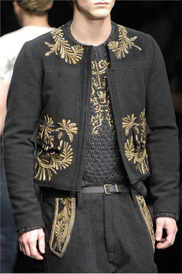Cocoa Butter: Dolce & Gabbana | Fall Winter 2013 Menswear