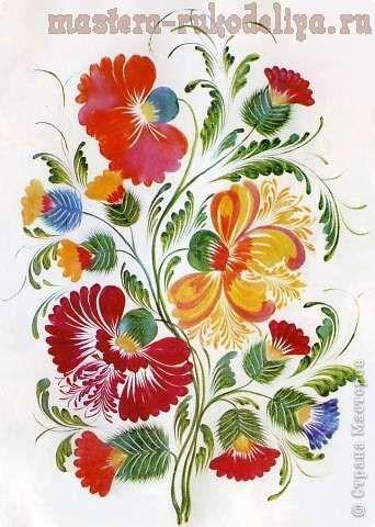 #Petrykivka style, hand painted #Ukraine