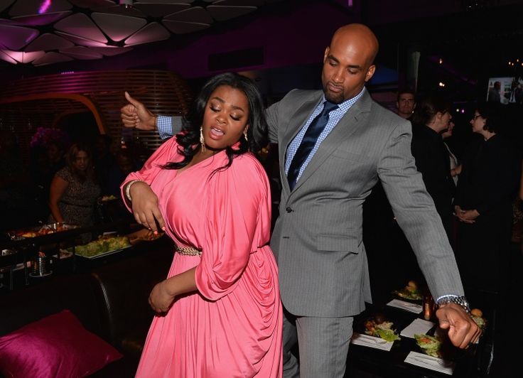 Go, Jill! Go, Jill! GRAMMY-winning songstress Jill Scott breaks it down on the dance floor with actor Boris Kodjoe at the after-party for their new film, Baggage Claim, on Sept. 25 in Los Angeles: Baggage Claim, Boris Kodjoe, Dance Floors, L'Wren Scott, Jill Scott, Parties, Actor Boris, Actor Jill, Kodjoe Attendance