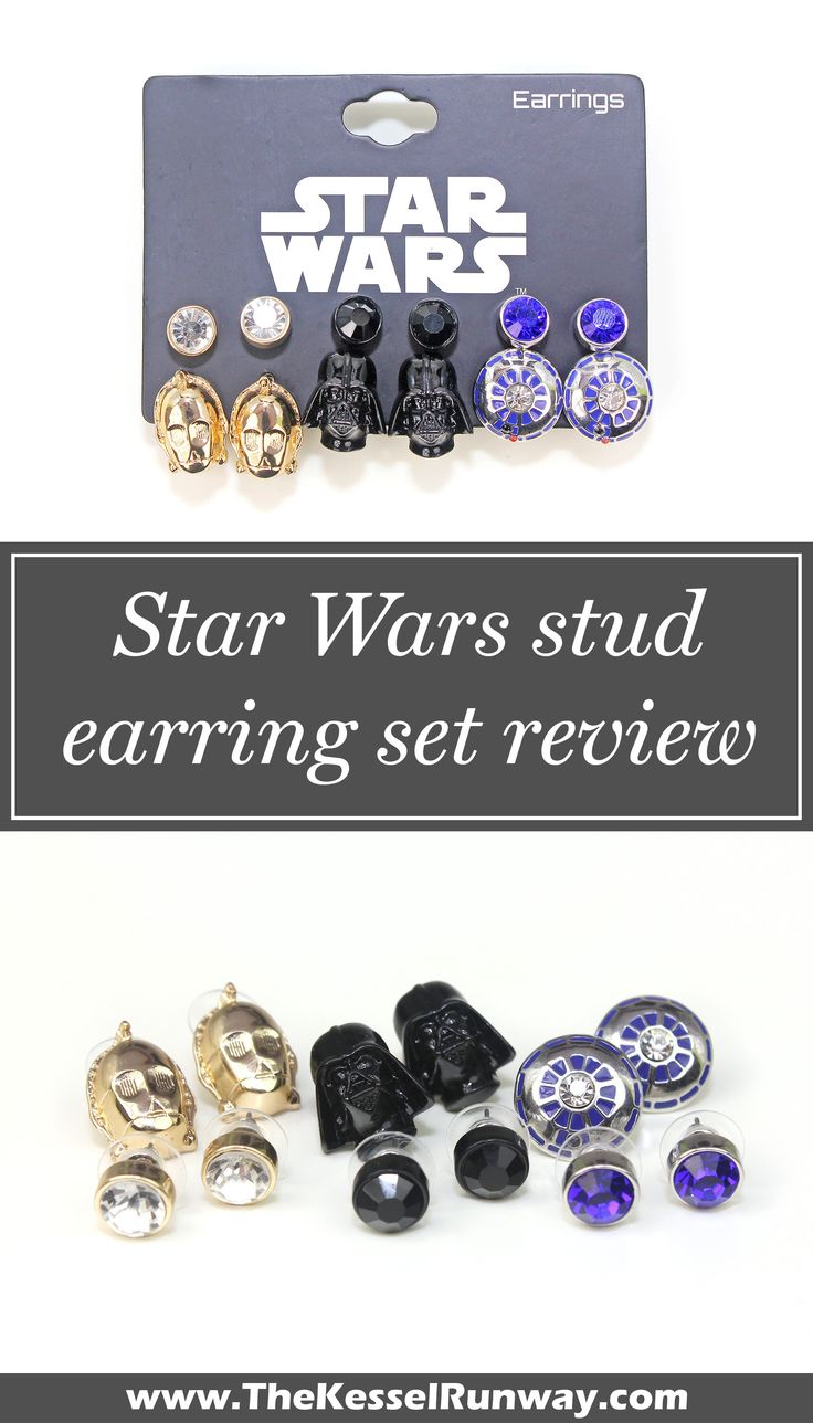 Torrid Star Wars character stud earring set review ⭐️ Star Wars fashion ⭐️ Geek Fashion ⭐️ Star Wars Style ⭐️ Geek Chic ⭐️