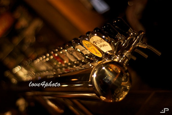 Beers  Prague Taps East Europe Brass Lager Museum  by love4photo, $15.00