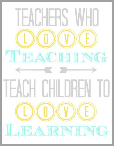 BLISSFUL ROOTS: Teacher Appreciation Quote {Printable}