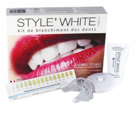 Style White na wybielanie zębów Style White to profesjonalny zestaw do wybielania zębów w warunkach domowych. Używając zestawu możesz uzyskać zdrowy i piękny uśmiech w krótkim czasie.   #Pasta do zębów #Wybielanie #Zęby