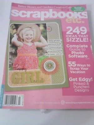 Better Homes And Gardens Scrapbooks Etc Back Issue