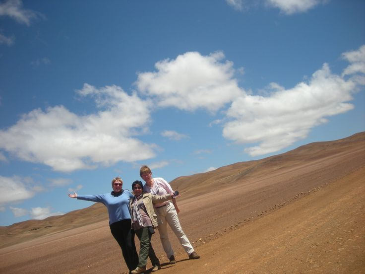 Visiting the driest desert on earth, the Atacama in northern Chile.