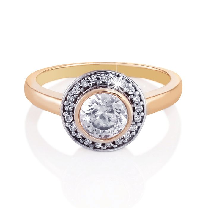 A sophisticated, symmetrical design is the real charm of this piece.