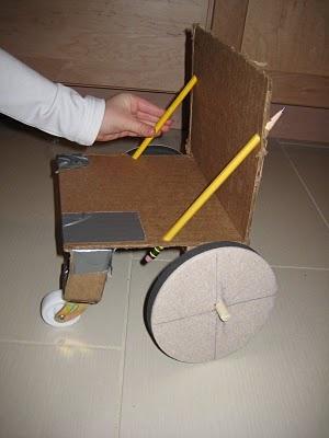 DIY doll wheelchair for Norah