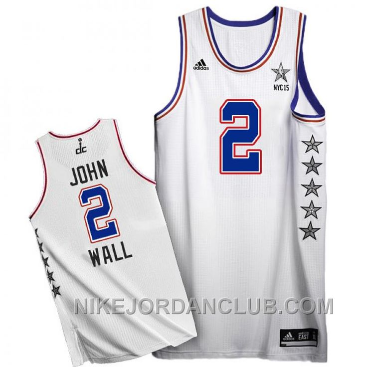 http://www.nikejordanclub.com/john-wall-2015-nba-nyc-allstar-eastern-conference-2-white-jersey-discount.html JOHN WALL 2015 NBA NYC ALL-STAR EASTERN CONFERENCE #2 WHITE JERSEY DISCOUNT Only $89.00 , Free Shipping!