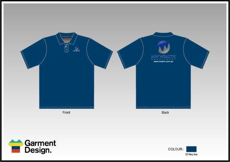 Sublimated corporate polo