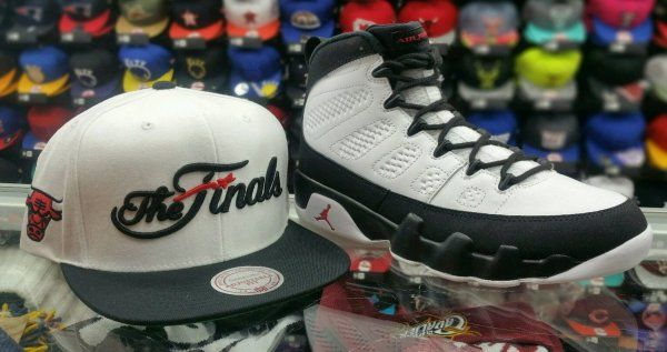Matching Mitchell Ness 1993 The Finals Chicago Bulls Snapback For Jordan 9  Space caf1ecf1b850