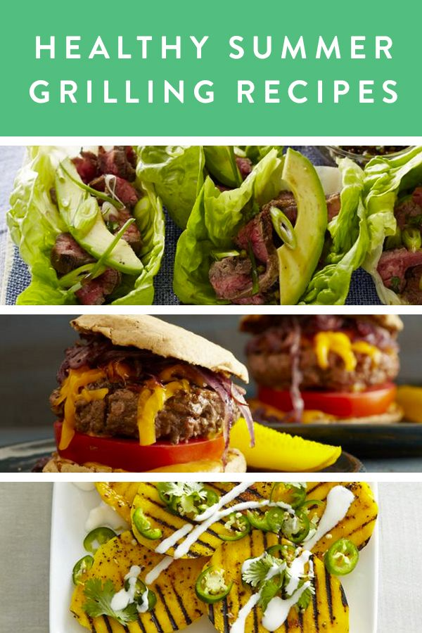 Healthy Summer Grilling Recipes via @PureWow