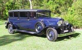 Graham Paige  Vintage Limousine, Seats 10 passengers + Chauffeur