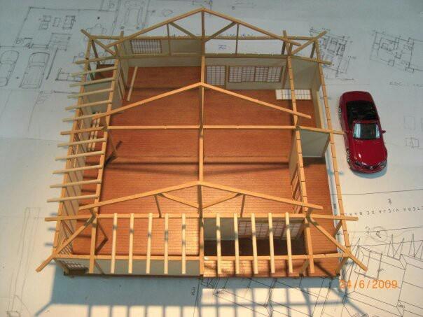 Maqueta casa japonesa detalles maquetasquevedo yahoo - Casas japonesas tradicionales ...