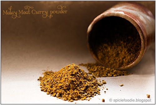 Malaysian Meat Curry Powder..how to make the blend in the thermie