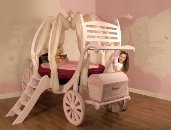 Bespoke Princess Beds: Treasured Dreams Carriage Beds