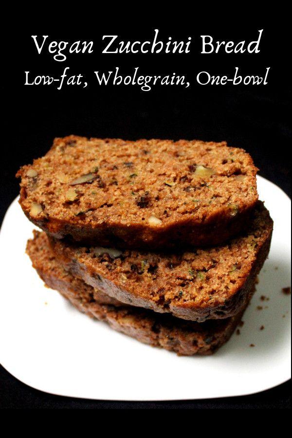 Vegan Zucchini Bread Recipe Vegan Zucchini Bread Vegan Zucchini Low Calorie Recipes