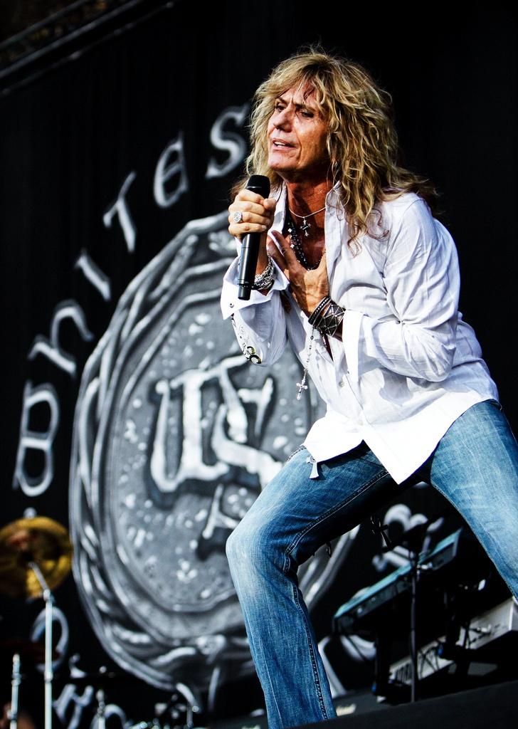 David Coverdale! (Whitesnake)   Photo: HenryRuggeri 2011 @Karen Fischer of Metal Italy