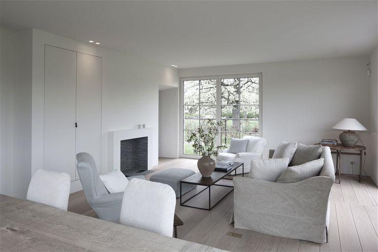 Belgian Tones | living room | Linen Sofa | Am Designs