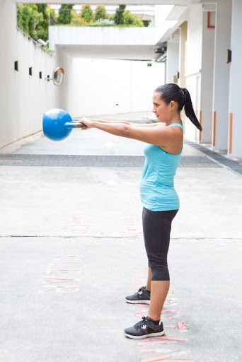 How to do the Perfect Russian Kettlebell Swing: Build your strength by learning how to do this awesome exercise.