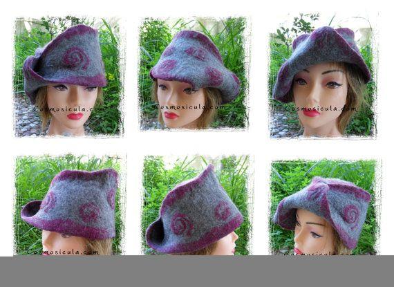 Cappello di feltro a forma di nastro di Mobius. di Cosmosicula, $111.00