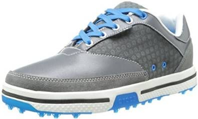 Made with full grain leather uppers these mens Drayden 2.0 golf shoes by Crocs are one of the lightest golf shoes in its class