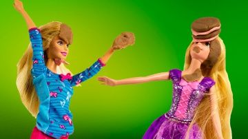Куклы Барби Принцессы Диснея Сумасшедшая Кухня мультик с игрушками игры для детей http://video-kid.com/9818-kukly-barbi-princessy-disneja-sumasshedshaja-kuhnja-multik-s-igrushkami-igry-dlja-detei.html  Music - free youtube collection.