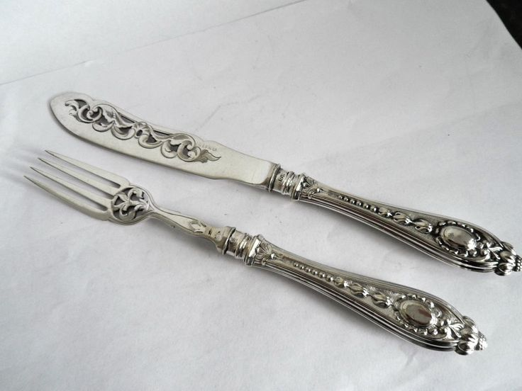 799 Best Images About Sterling Flatware On Pinterest