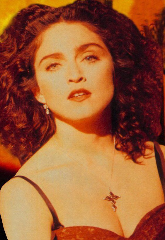 "I am the only one I know who thought Madonna looked her most beautiful during the ""like a prayer"" phase of her career.  Gorgeous."