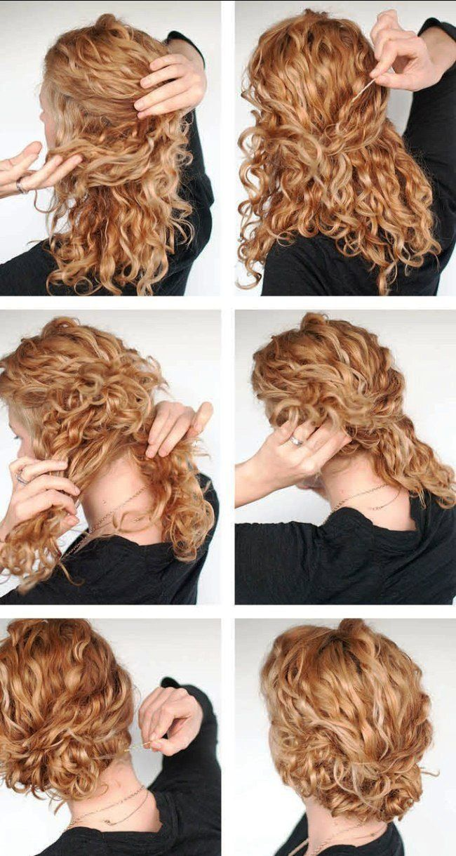 simple party hairstyles long