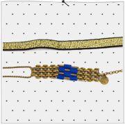 Paulette magazine - Bijoux de tête en laiton et en cuirMarie Duvet