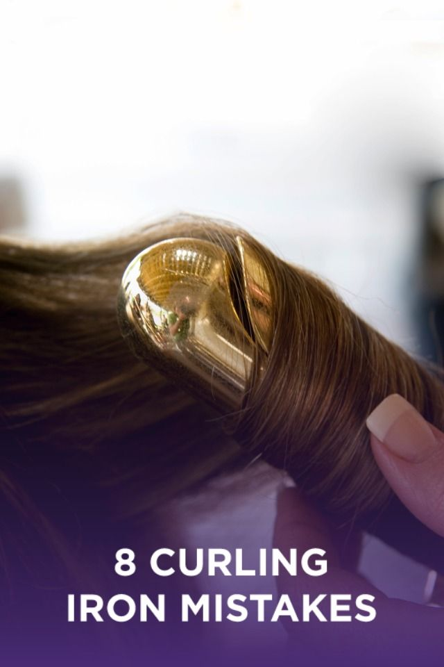 8 mistakes you are making with your curling iron. Never damage your hair with an iron again with these tips and tricks!