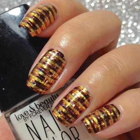 top nail art styles trends 2017