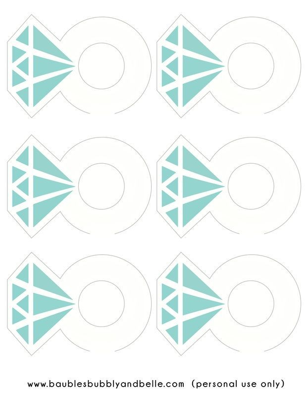 breakfast at tiffanys printables - Google Search